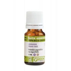 Huile essentielle Bio Lavande Vrai, flacon de 10 ml