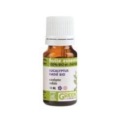 Huile essentielle Bio d'Eucalyptus Radié, flacon de 10 ml